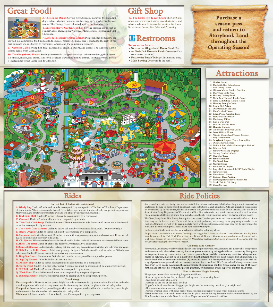 Storybook Land Map